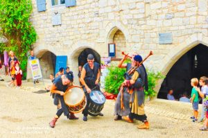 Monflanquin Medieval entertainment