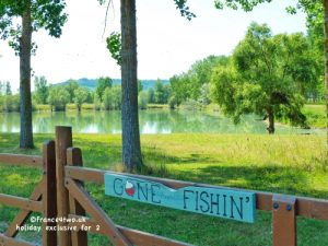 Relax and enjoy Gone Fishin