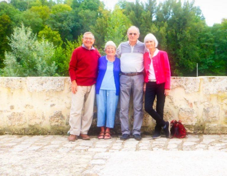 In Vianne with wonderful friends