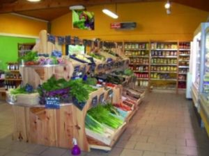 Organic food and household items