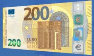 The New 200 Euro Note in circulation May 2019