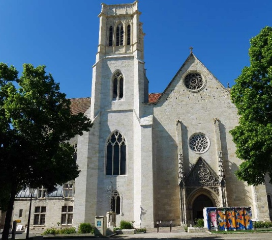 Consecrated Cathedral Saint Caprais Agen